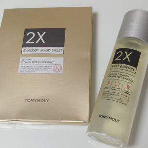 韓国優秀コスメTONYMOLY(トニーモリー)「2Xシリーズ」できめ細かいしっとり肌に♡