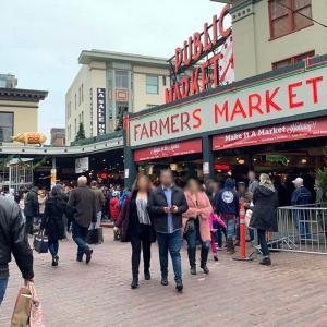アメリカで最も歴史のある「パイク・プレイス・マーケット」はシアトル市民の台所!