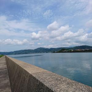 夏のお散歩&海の景色
