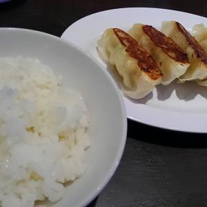 7回目の1ヵ月無料パス最終日「旨辛まぜそば」の餃子定食!~味噌だれ美味い!
