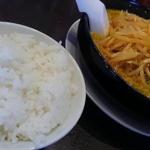 隠れた逸品、カレーラーメン!細麺バリカタで!