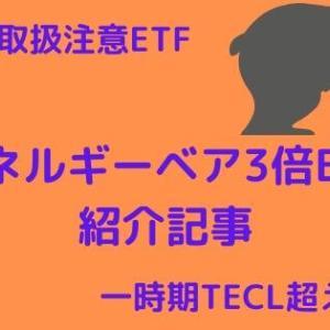 【ERYは取扱注意】エネルギー株ベア3倍ETFを紹介【レバレッジETF】