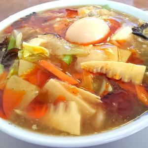 麺カフェひまわり、裏メニューな酸辣湯麺は激旨!
