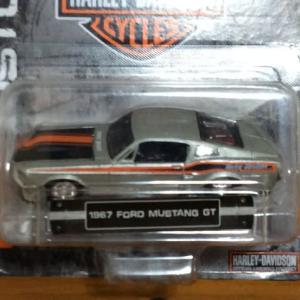1/64 1967  Mustang GT  [Maisto    Harley Davidson Series]