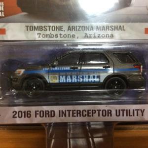 1/64 2016 Interceptor Utility Tombstone,Arizona Marshal [GreenLight  Hot Pursuit Series]