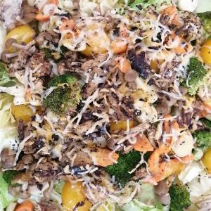 サバ缶と野菜のオーブン焼き