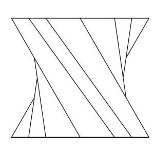 【CADデザイン】3D CADでモデルを作成 (ねじれたオブジェ)
