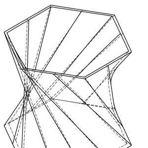 【CADデザイン】3D CADでモデルを作成 (ねじれた花瓶)