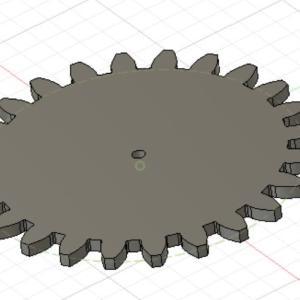 【Fusion360】簡単に歯車(GEAR)のモデルを作る方法