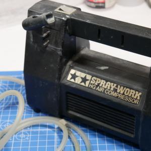 模型用コンプレッサーの変換、理想のコンプレッサーを目指して