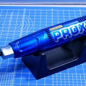 究極の時短ツールことペンサンダーをオリジナルカラーにしてみた。難敵ナイロン樹脂に挑む!