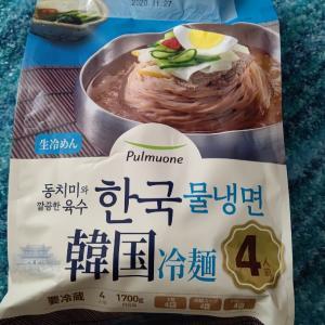 コストコ販売生冷麺韓国冷麺