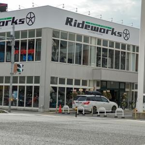 自転車リンリングループRideworks芦屋から移転営業