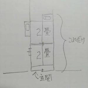 アパートの記憶