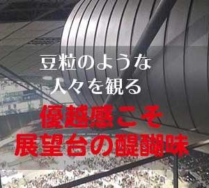 札幌ドームを子供と楽しむ!展望台から53m下の球場を見下ろそう