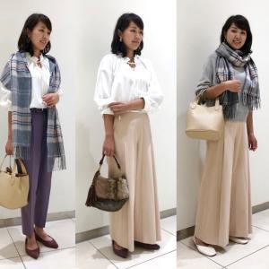 【Before→after】骨格タイプウエーブ きれいめママファッション