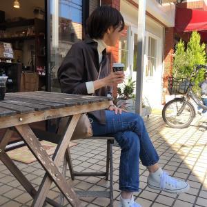 アラフォーワーママ~秋の休日コーデ