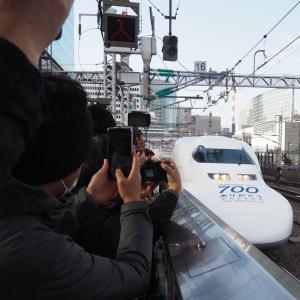団体専用列車「のぞみ311号」撮影