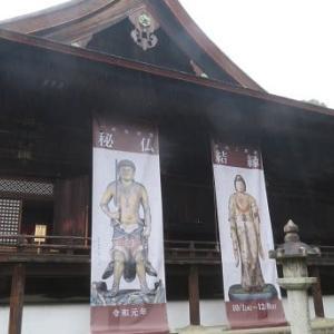 黄不動の彫像、世界最古のビザ_大津 三井寺の至宝が特別公開