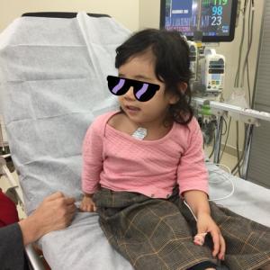 3歳、くるみでアナフィラキシーショック。救急車呼んでも良いんですよにホッとしたあの日。