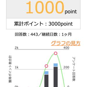 【ポイ活】1000円分のポイントを交換しました【マクロミル】