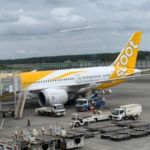 【タイ・バンコク】スクート(Scoot)成田空港ーバンコク(ドンムアン空港)TR869搭乗レビュー。チェックイン・機材・機内食の様子は?
