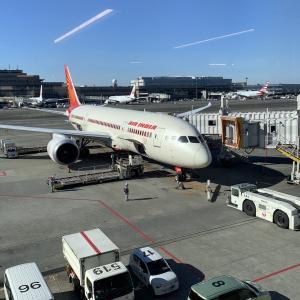 【エア・インディア(Air India)】成田空港ーインド・デリー空港 AI307搭乗レビュー。チェックイン・サービス・機内食は?