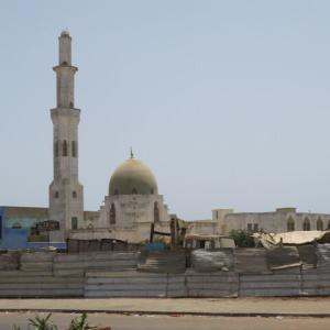 ダカールで一番美しく、新しいモスク(2020年8月9日)