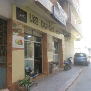 アラブ人の憩いの場のカフェ(2021年6月18日)