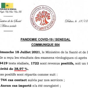 セネガルでは集団免疫獲得か!?(2021年9月1日)