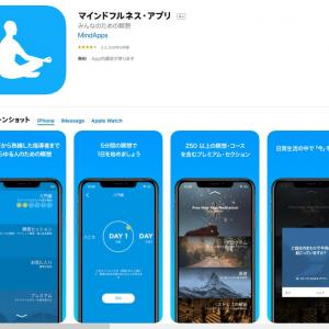 おすすめのアプリ紹介『 マインドフルネス・アプリ』なら手軽に砂浜の音が聞けるぞ!無料で!