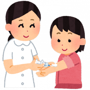 韓国の病院での風邪治療法