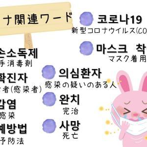 【今週の韓国語】新型コロナウイルスについて