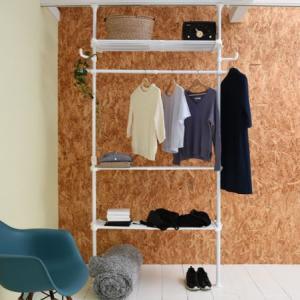 脱衣所の収納問題を解決