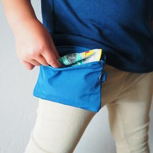 無印のポーチと100円アイテムで!簡単&シンプルな移動ポケット