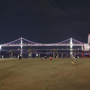 釜山・広安里で夜景を楽しむ♪・・・慶尚道ひとり旅(18)