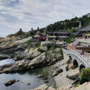 海を臨む絶景のお寺で・・・慶尚道ひとり旅(19)