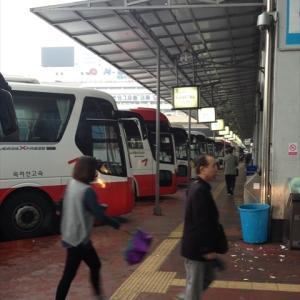 高速バスでソウルへGO!(2013/11/02)