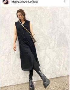 ☆★☆氷川きよし   ワンピースの私服姿を公開する!