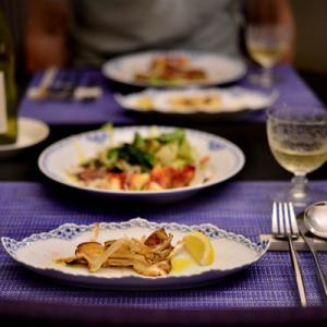 「イタリアン松茸と神常備食材」