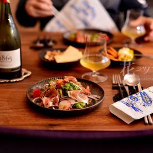 「和食器で食べる洋食と食器棚の決意」