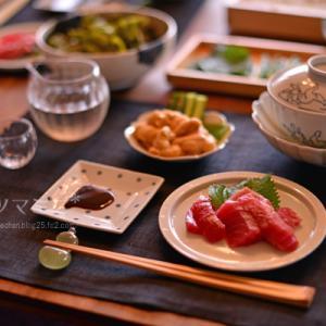 「初めての手巻き寿司」