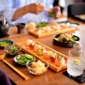 「手鞠のお寿司」