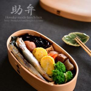 「焼きししゃもの海苔弁 - 魔法のお弁当箱」