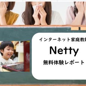 インターネット家庭教師Netty(ネッティ)の口コミ!小学2年の娘が無料体験したリアルレビュー
