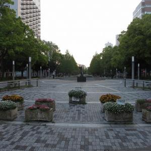 【大通り公園】横浜市の中心にある細なが~い公園