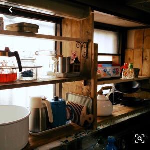 5▶︎昭和&海外キッチンにインスパイア★キッチン#3