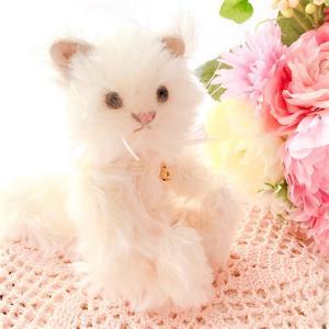 テディベア作家が作るオリジナルのネコさん