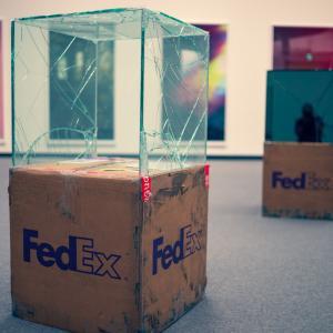 「FedEx」ワリード・ベシュティ  あいちトリエンナーレ2019