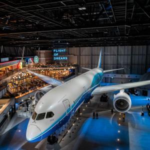 B787  FLIGHT OF DREAMS